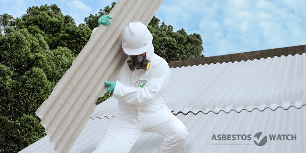 Mackay asbestos roof removal process